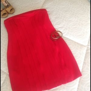 BCBGMaxAzria Fabulous red dress